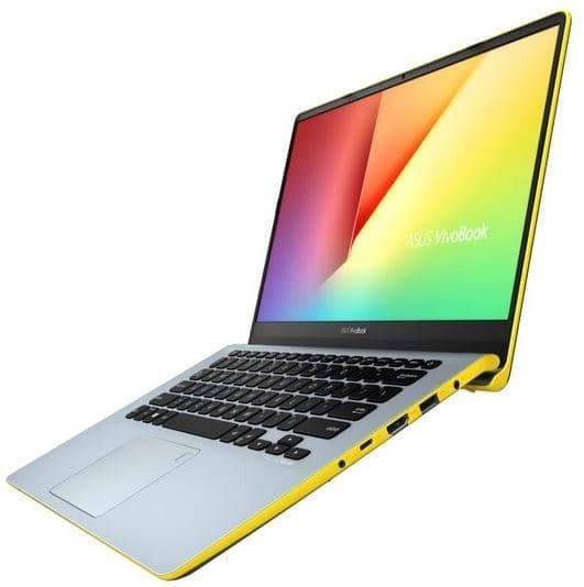 Asus S430FN-EB733T Silver Blue-Yellow