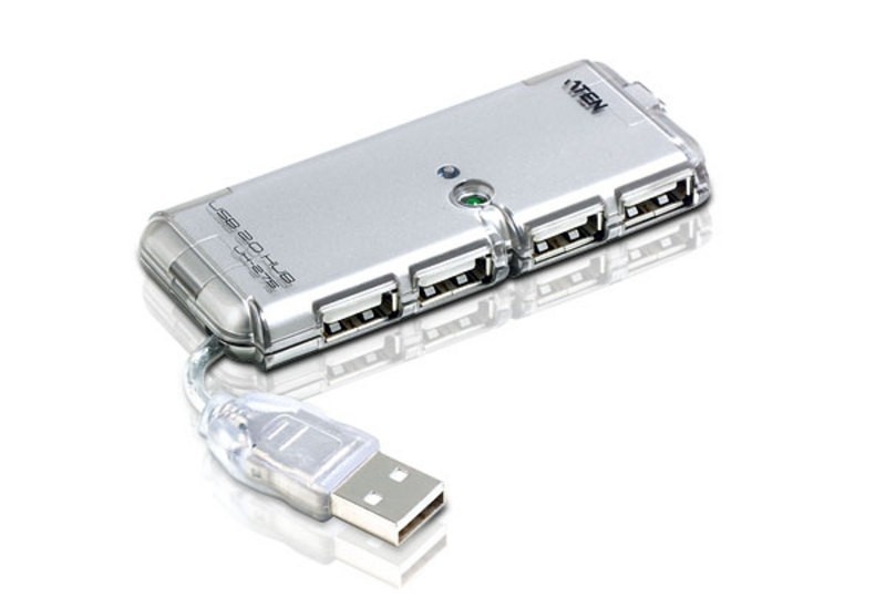 Aten 4 Port USB 2.0 Hub with External Power (UH275Z-AT-G)