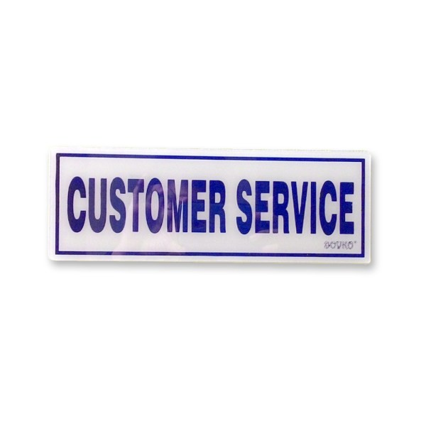 Acrylic Sign Customer Service