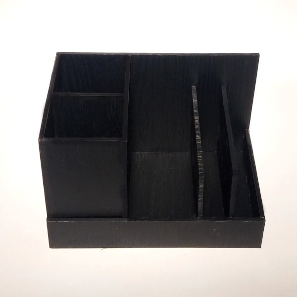 Desk Set DS116 black wood