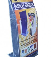 Display Brosur Acrilic 10×25 Decovil