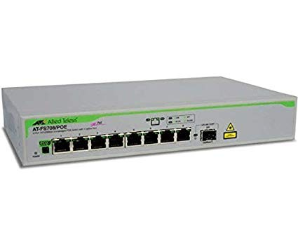 Allied Telesis PoE Switches AT-FS708/POE