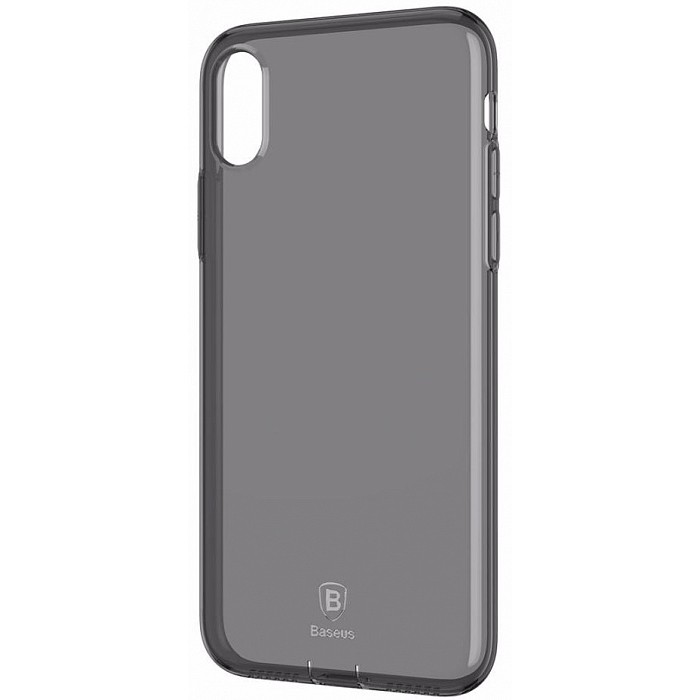 Baseus Pluggy Slim Series TPU Case for iPhone X - Black