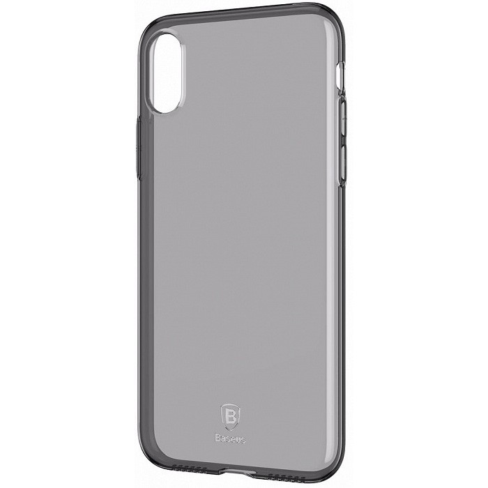 Baseus Simple Slim Series TPU Case for iPhone X - Black