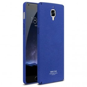 Imak Cowboy Quicksand Ultra Thin Hard Case for OnePlus 3 - Blue