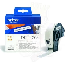 Brother DK-11203 Compatible White Label Roll 17mm x 87mm