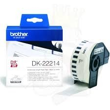 Brother DK-22214 Continuous Length Paper Tape 12mm (30.48m)