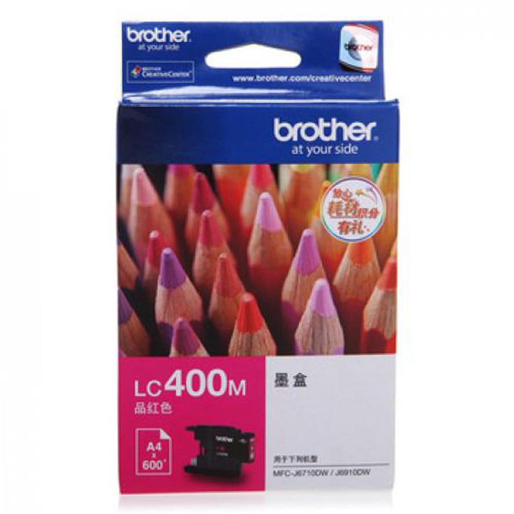 BROTHER Magenta Ink Catridge [LC-400 M]