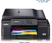 Printer Inkjet Brother MFC-J200 Print, Scan, Copy, Fax with ADF