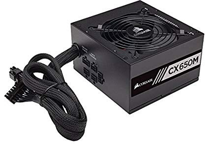 Power Supply Corsair CX650M (CP-9020103-EU) 650W 80 Plus Bronze