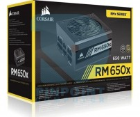 Power Supply Corsair RM650X  (CP-9020178-EU) 650W 80 Plus Gold