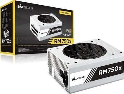 Power Supply Corsair RM750x WHITE (CP-9020155-EU) 750W 80 Plus Gold