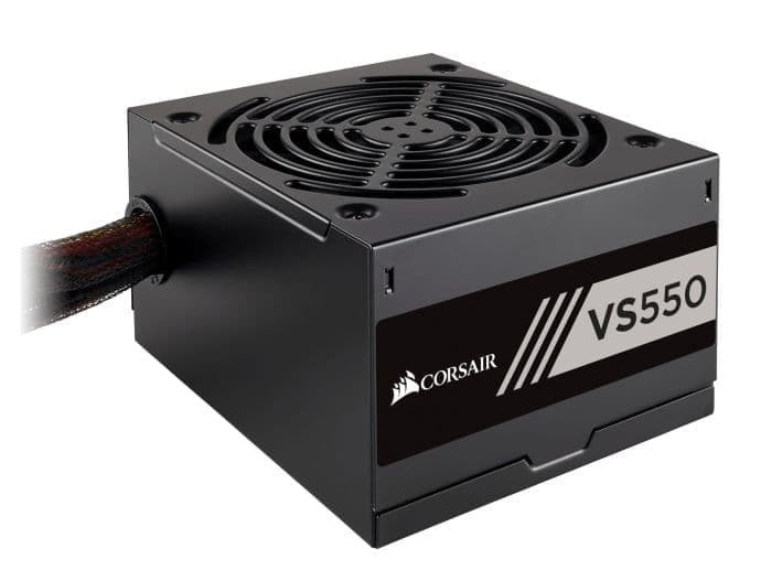 Power Supply Corsair VS550 (CP-9020171-EU) 550W 80 Plus