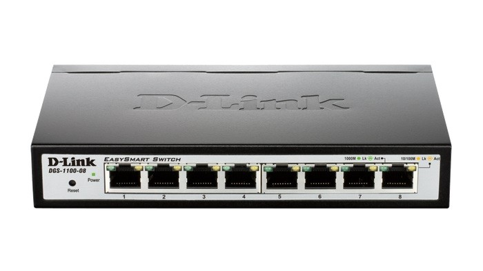 D-LINK Smart Switch (DGS-1100-08/RS)