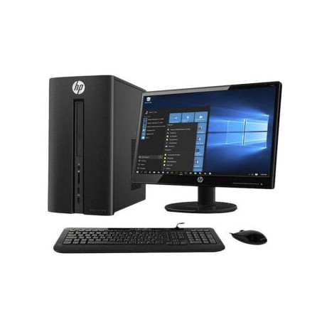 HP510-A011D Desktop PC - WIN 10 SL