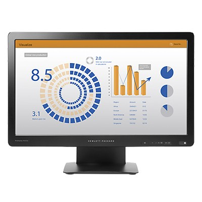 HP ProDisplay P202va 19.53-In LED Blt LCD Monitor [K7X26AA]