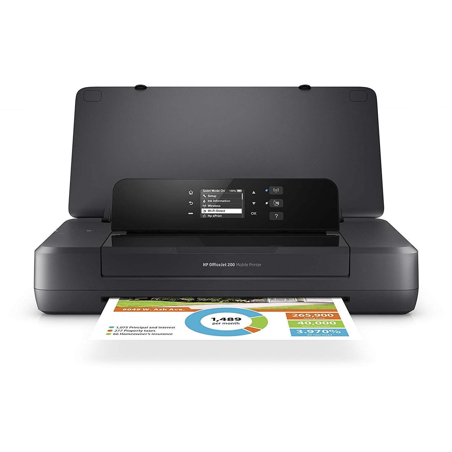 HP Officejet 200 Mobile Printer [A4 Size]