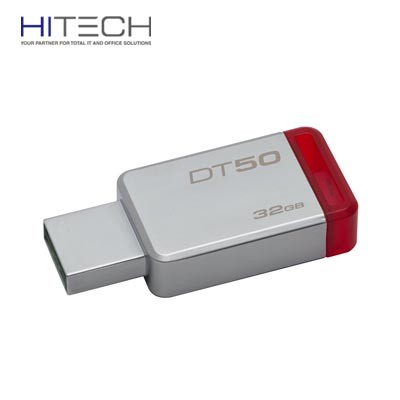 Flashdisk Kingston DataTraveler 50 USB 3.1 32GB - DT50/32GBFR - Red