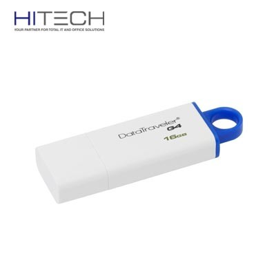 Flashdisk Kingston DataTraveler Generation 4 (DTIG4) - 16GB - Blue