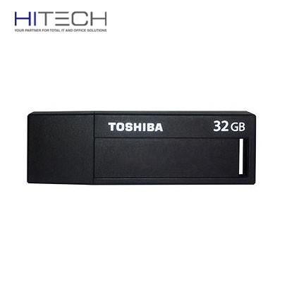 Flashdisk Toshiba Daichi USB Flash Drive 3.0 32GB - V3DCH-032G - Black