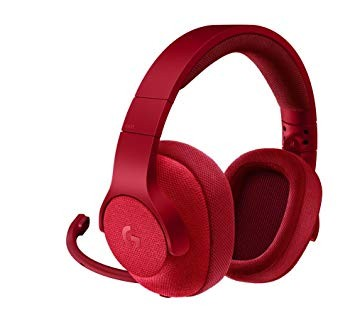 Gaming Headset Logitech G 433 7.1 Surround - Red