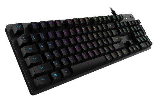 Gaming Keyboard Logitech G 512 Carbon RGB Mechanical - Clicky