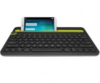 Logitech K480 Bluetooth Multi Device Keyboard - Black