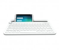 Logitech K480 Bluetooth Multi Device Keyboard - White