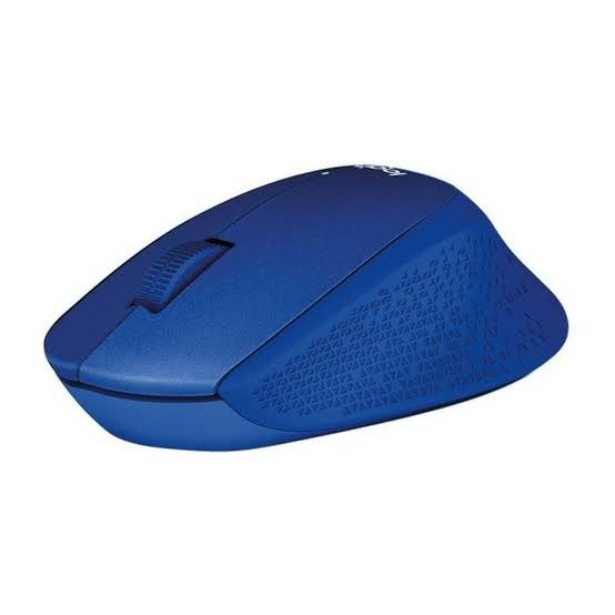 Mouse Wireless Silent Plus Logitech M331 Blue