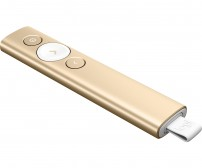 Logitech Spotlight Presentation Remote - Gold
