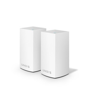 Linksys WHW0102-AH AC2600 DUAL BAND ROUTER, 2 PACK MESH NETWORK