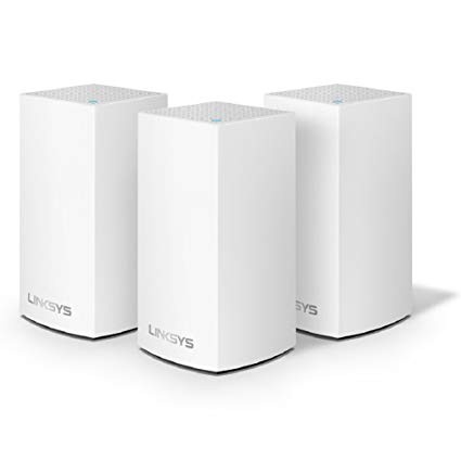 Linksys WHW0103-AH AC3900 DUAL BAND ROUTER, 3 PACK MESH NETWORK