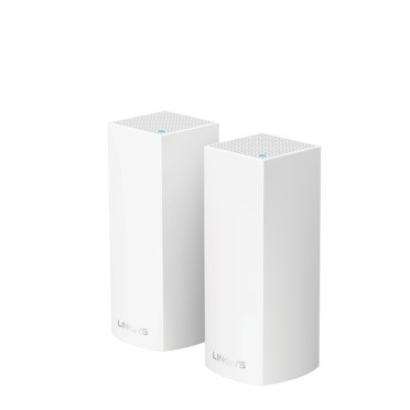 Linksys WHW0302-AH AC4400 TRI BAND ROUTER, VELOP 2 PACK MESH NETWORK