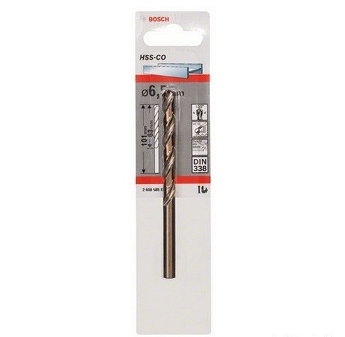 Bosch HSS-Co 6,5 mm (1pc/pack)