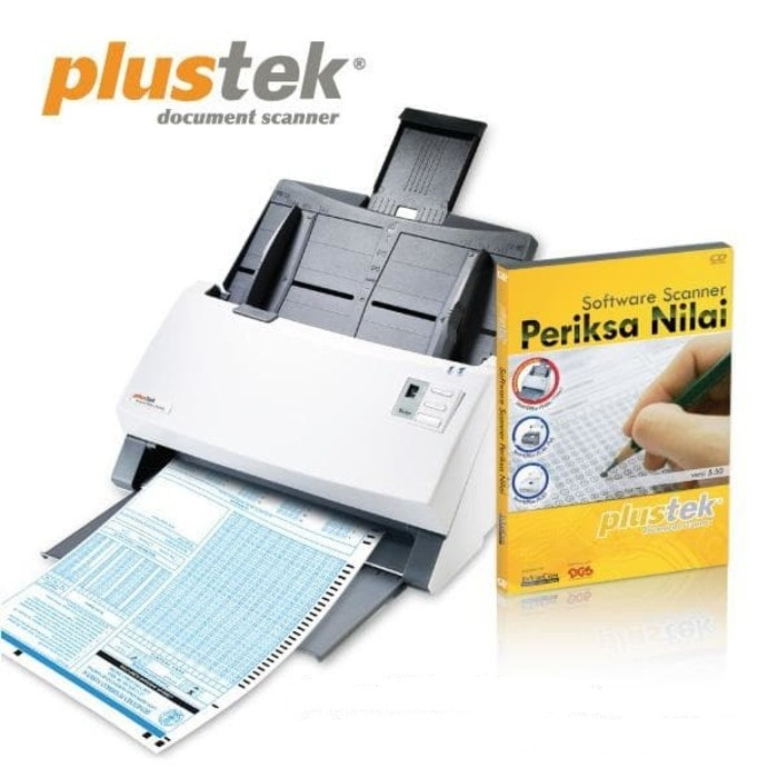 Paket Scanner SmartOffice PS396 PLUS + Software Periksa Nilai