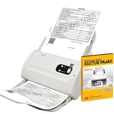 Paket Scanner SmartOffice PS283 + Software Scan Faktur Pajak