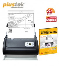 Paket Scanner SmartOffice PS286Plus + Software Scan Faktur Pajak