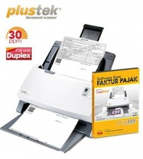 Paket Scanner SmartOffice PS396 + Software Scan Faktur Pajak