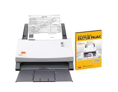Paket Scanner SmartOffice PS456U + Software Scan Faktur Pajak