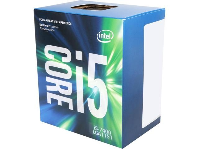 Intel Core i5-7400 Processor Kaby Lake