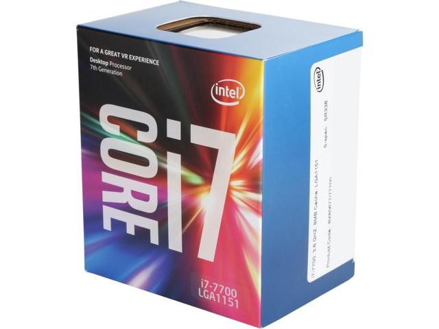 Intel Core i7-7700 Processor Kaby Lake