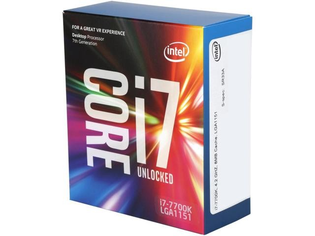 Intel Core i7-7700K Processor Kaby Lake