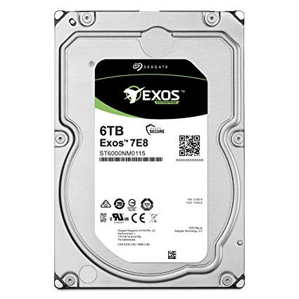 "Hard Drive for Data Center & Server Seagate EXOS 3.5"" 6TB - 7200Rpm - Garansi 5 Tahun"