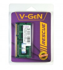 RAM Laptop V-GeN RESCUE SODIMM DDR3 2 GB PC-12800/1600