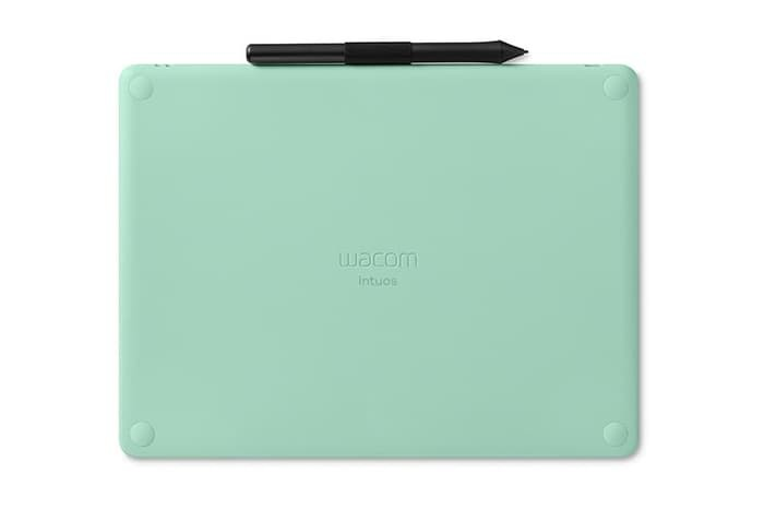 Pen Tablet Wacom Intuos M Bluetooth - Pistachio Green - CTL-6100WL/E0