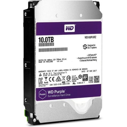"Harddisk 3.5"" for CCTV WD AV 10TB PURPLE"