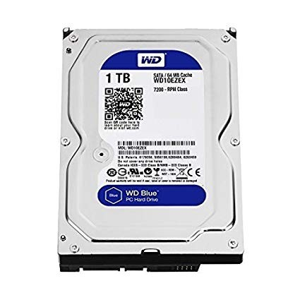 "Harddisk Internal 3.5"" WD 1TB Blue"