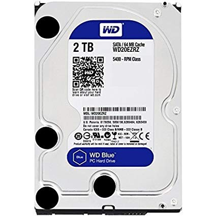 "Harddisk Internal 3.5"" WD 2TB Blue"