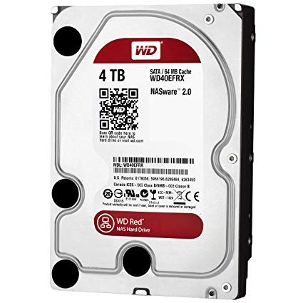 "Harddisk PC 3.5"" WD CAVIAR RED 4TB"