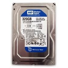 HARD DISK WDC 320 GB/SATA/ 3,5''  SATA 3  1th garansi (refurbish)